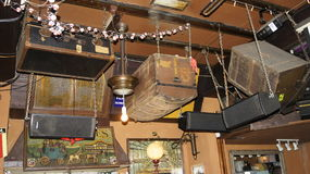 Pub di Mallorca fotografia stock