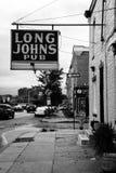 Pub di mutandoni lunghi, in Remington, Baltimora, Maryland fotografie stock libere da diritti