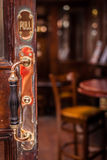 Pub door handle Royalty Free Stock Photography