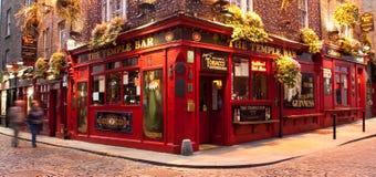 висок pub dublin штанги Стоковая Фотография