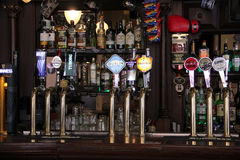 Pub in Dublin. Image of a beer pub in Dublin, Ireland Royalty Free Stock Images