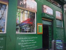 Pub a Dublino Fotografie Stock Libere da Diritti