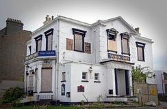 Pub fantasmagórico misterioso de la reducción Fotografía de archivo