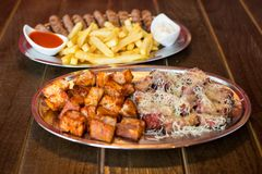 Pub food Stock Photography
