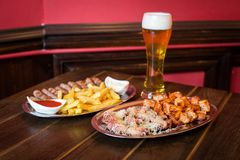 Pub food Stock Image