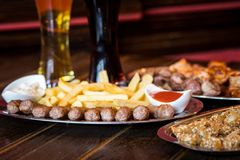 Pub food Stock Images