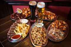 Pub food Royalty Free Stock Photos