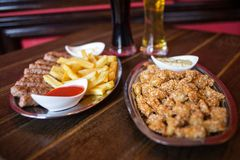 Pub food Royalty Free Stock Photography