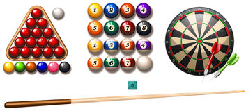 Pub games Stock Images