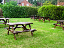 Pub Garden Royalty Free Stock Photography