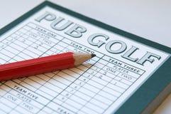 Pub-Golf Stockbild