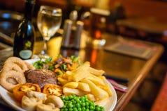 Pub food Stock Photos
