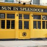 Pub i London Royaltyfri Bild