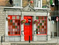 Pub irlandés imagen de archivo