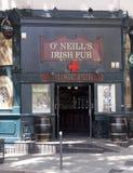 Pub irlandês fotografia de stock
