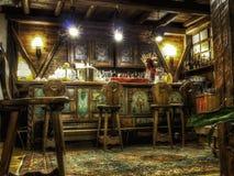 Pub italiano de las montañas Fotos de archivo