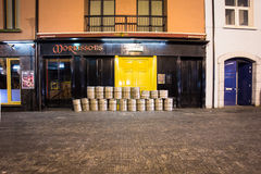 Pub Kilkenny Irlanda Foto de archivo libre de regalías