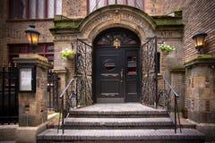 Pub NYC del Dubliner Imagen de archivo
