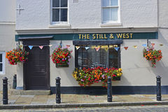 Pub in Old Portsmouth, England Royalty Free Stock Photo
