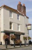 Pub przy Starym Portsmouth. Hampshire. Anglia Fotografia Stock