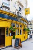 Pub-restaurant at the Portobello Road in London, UK Royalty Free Stock Image