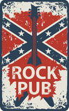 Pub with rock music Royalty Free Stock Photo