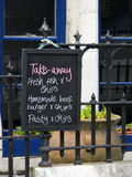 Pub sign. A sign outside a pub in Port Issac U.K Royalty Free Stock Photography