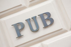 Pub Sign Stock Photos