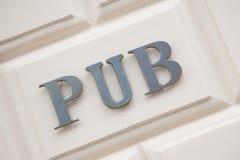 Pub Sign Stock Photos