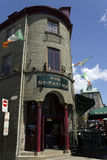 Pub St-Patrick Quebec city Stock Photos