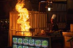Pub Street, Siem Reap, Cambodia stock photo