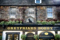 Pub to Greyfriars Bobby, Edinburgh, Scotland. Pub to Greyfriars Bobby in Edinburgh, Scotland Royalty Free Stock Photography
