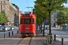 Pub tram Helsinki Finland Royalty Free Stock Photography
