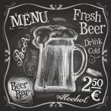 Pub vector logo design template. beer mug or menu Stock Images