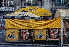 Pub w Belgrade obraz royalty free