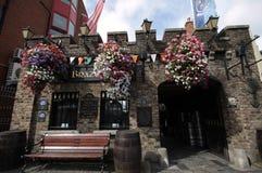Pub w Dublin śródmieściu Zdjęcia Stock