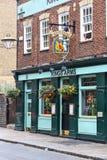 Pub w Londyn obraz royalty free
