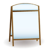 Pub white notice board Stock Images