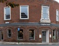 Pub y restaurante del calamar de Giggiling fotografía de archivo libre de regalías