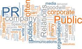 Pubbliche relazioni Immagini Stock Libere da Diritti