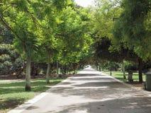 Pubblici di Giardini (parco pubblico) a Cagliari immagini stock libere da diritti