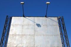 Pubblicità della scheda Fotografia Stock Libera da Diritti