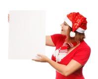 Pubblicità di Natale Immagini Stock