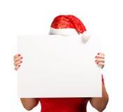 Pubblicità di Natale Fotografie Stock Libere da Diritti