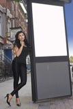 Pubblicità urbana Fotografia Stock