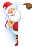 Pubblicità del Babbo Natale Fotografie Stock Libere da Diritti