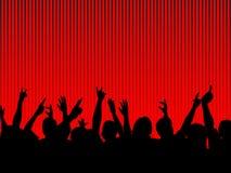Pubblico Fotografia Stock Libera da Diritti