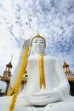 Pubblico bianco di Buddha Fotografie Stock Libere da Diritti