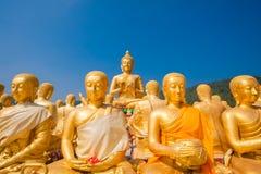 Pubblico di Buddha Immagini Stock
