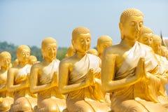 Pubblico di Buddha Immagine Stock